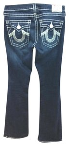 True Religion Denim Boot Cut Jeans-Dark Rinse