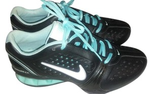 Nike Cross Training Running Black and Aqua Athletic