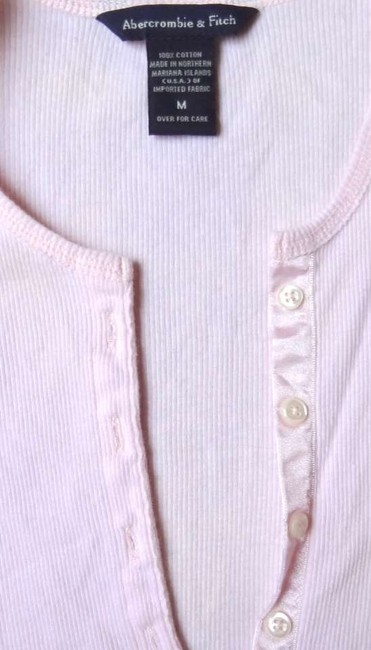 Abercrombie & Fitch Button Down Shirt Light pink