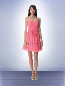 Bill Levkoff Coral 947 Dress