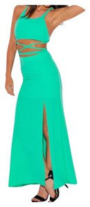 Teal Maxi Dress by