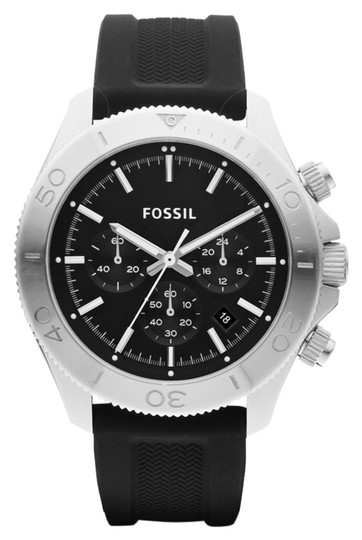 Fossil Fossil Male Retro Traveler Watch CH2851 Silver Analog