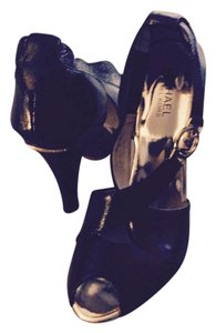 Michael Kors Black & gold Sandals
