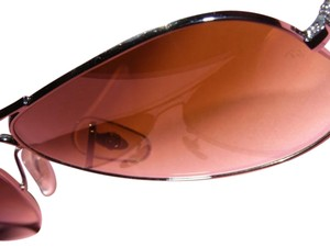 Ray-Ban Ray Ban Brown Aviators with Brown Metal Frames