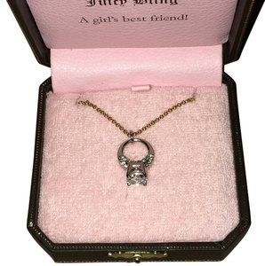 Juicy Couture Silver & Gold Necklace