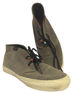 Vans High Top Suede Casual Gray Athletic