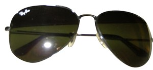 Ray-Ban Ray Ban BLACK Aviators (Black Lenses and Metal Frames)