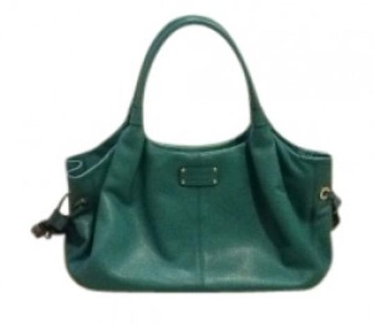Preload https://item3.tradesy.com/images/kate-spade-turquoise-leather-shoulder-bag-17022-0-0.jpg?width=440&height=440
