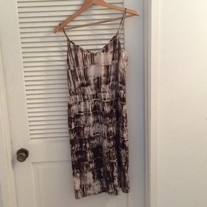 Twelfth St. by Cynthia Vincent short dress Silk brown print on Tradesy
