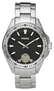 Fossil Fossil Male Dress Watch ME1105 Silver Analog
