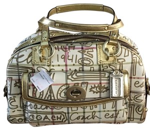 Coach Satchel in B4 /Multicolor /Gold
