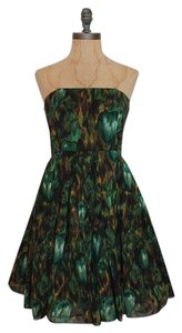 Alice + Olivia Strapless Bustier Dress