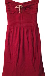 Odille short dress Red on Tradesy