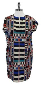 Mara Hoffman short dress Multi Color Geo Print Shift on Tradesy