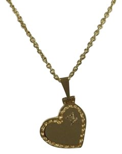 Louis Vuitton Louis Vuitton 18k Yellow Gold Heart Coeur Locket Necklace
