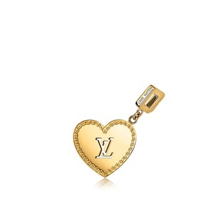 Louis Vuitton Louis Vuitton 18k Gold Heart Locket Necklace Couer