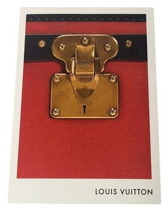 Louis Vuitton Rare STATIONARY GREETING CARD