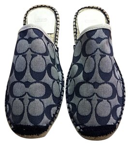 Coach Denim Flats