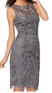 Adrianna Papell Charcoal Adrianna Papell Dress