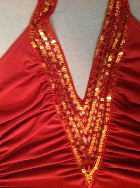 Other 70's Pants Disco Sequin Hanky Dress