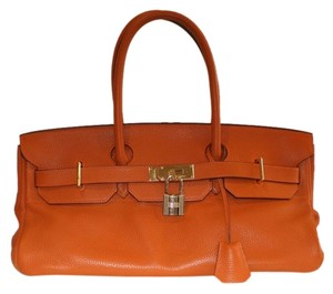 Herms Birkin Tote in ORANGE
