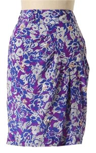 Anthropologie Pencil Pencil Fei Skirt purple