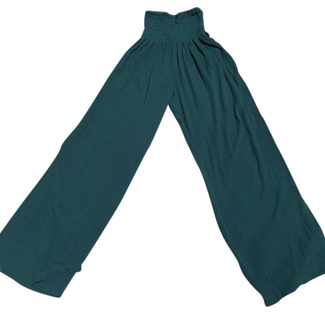 Cleobella Wide Leg Pants Teal Image 0