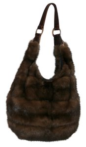 J. Mendel Sable Shoulder Bag
