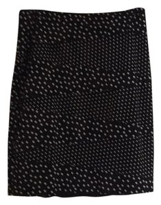 White House | Black Market Skirt Blk/wht