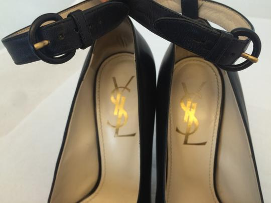 Yves Saint Laurent Ysl Black Pumps