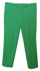 Trina Turk Cropped Pants Capris Lime Green