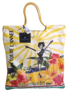 Lanvin Tote in Multicolored Print