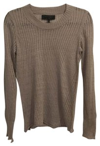 Rag & Bone Longsleeve Linen Ribbed Slim Sweater