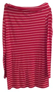 DKNY short dress Red and white stripes on Tradesy