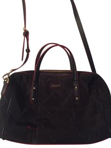 Vera Bradley Preppy Poly Satchel in Black