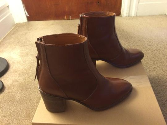 Madewell pecan Boots