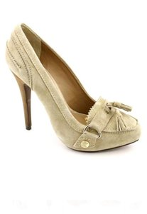 Madison Harding Loafer Suede 6 nude - beige- Cream Pumps