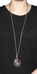 Express Long Gold Necklace