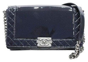 Chanel Boy Patent Medium Shoulder Bag
