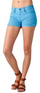 Madewell Cut Off Shorts Turquoise