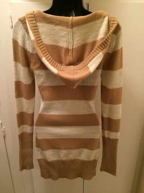 Sweater dress with hoodie short dress on Tradesy