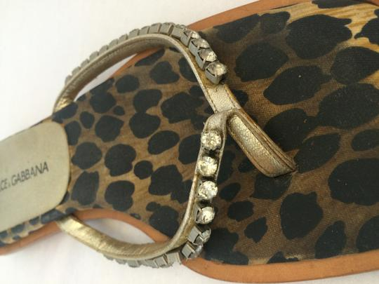 Dolce & Gabbana And Leopard Sandals