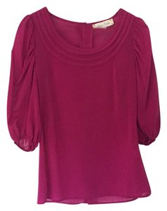 Criss Cross Top Magenta