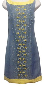 Tracy Reese short dress Blue Iris on Tradesy