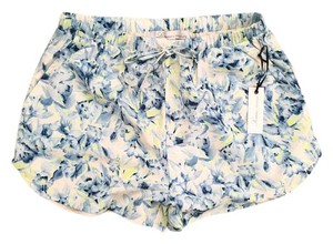 Lovers + Friends Blue Floral Shorts