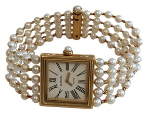 Chanel CHANEL 18K GOLD AND PEARL MADEMOISELLE WATCH - ONLY WORN ONCE!