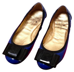 Kate Spade Royal Blue / Black Flats