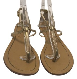 Boutique 9 Gold thong Sandals