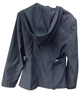 Esprit Classic Stretch Hooded Black Jacket