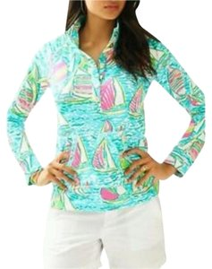Lilly Pulitzer Captain Popover Popover You Gotta Regatta Ugotta Regatta Sweater